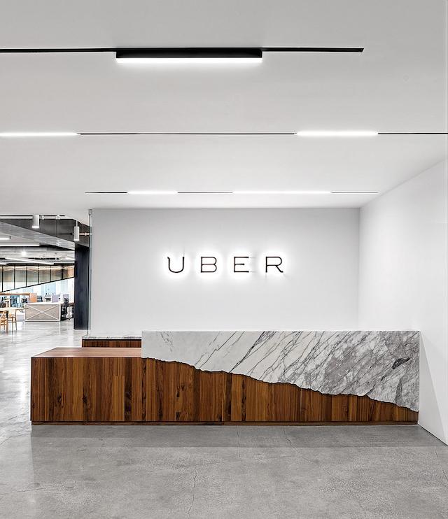 Uber Office办公室效果图设计角